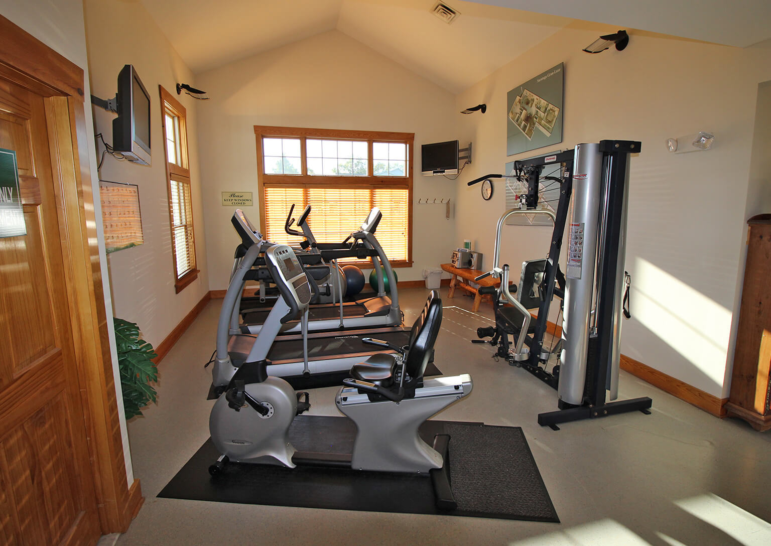 Hudson Preserve Apartments - Fitness Center