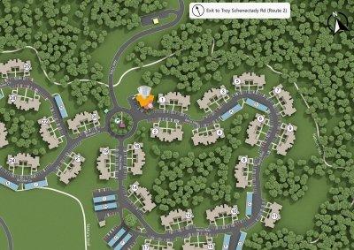 Hudson Preserve Luxury Apartments - SiteMap