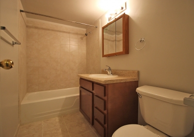 Lake Shore Park Apartments - Refurbished Bathroom
