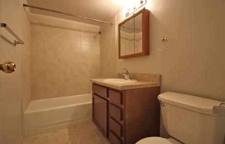 Lake Shore Park Apartments - Refurbished Bathroom