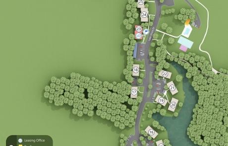 Lake Shore Park Apartments - Site Map