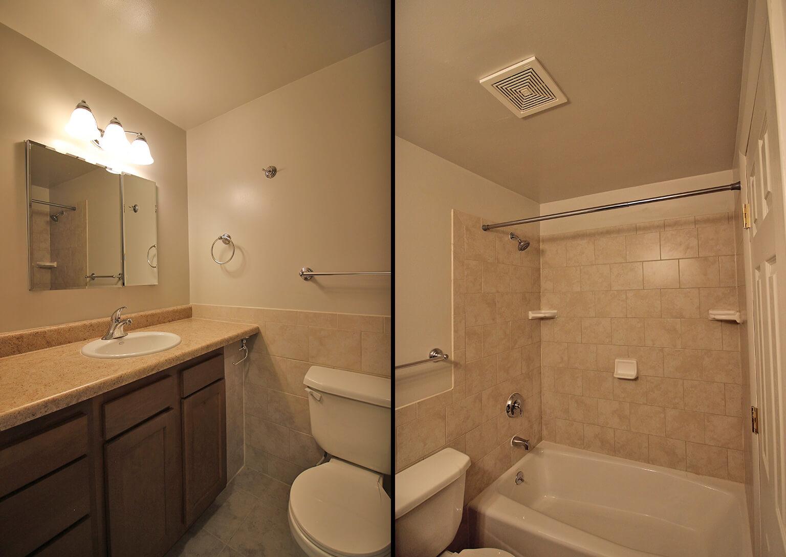Valley View Apartments - Bathroom